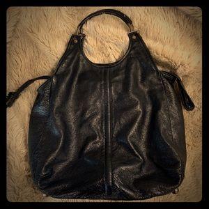 Authentic Balenciaga Black Leather Bag